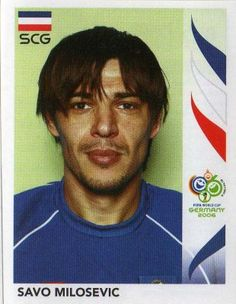 Image result for germany 2006 panini srbija milosevic Fifa World Cup, Ms, Germany, Soccer, Football, Stickers, Image, America's Cup, Trading Cards