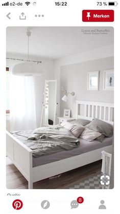 58b85365c8 Our gorgeously chic Pippa bed frame will brighten your bedroom with its  classic, French-inspired style. | Bed Frames | White wooden bed, Wooden bed  frames, ...