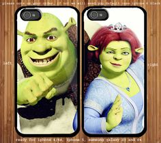 Shrek And Princess Fiona Couple case for iphone