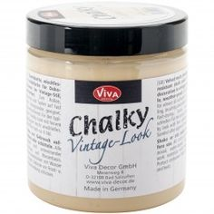 Viva Decor Chalky Vintage Look Paint 8oz - Cappuccino