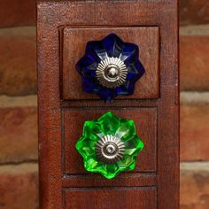 Glass Knobs, Drawer Handles, Colours, Shapes, Nice, Pretty, Instagram, Home Decor, Iron