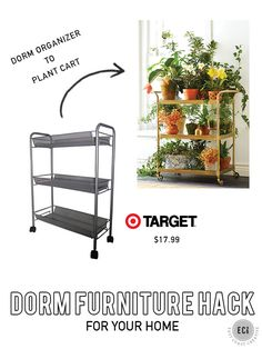 DIY hacks for your home. Shop college sales and hack them into awesome decor for your house or apartment!