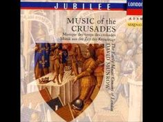 """Historic recording of the song """"Au tens plain de felonnie"""" by trouvère and crusader Thibaut de Champagne. Performers: The Early Music Consort of London dir. by the late David Munrow on 'Music of the Crusades' (CD London """"Jubilee"""" series)."""