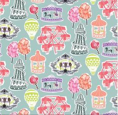 This vintage fairground inspired wallpaper conjurs nostalgic memories of the coconut shy, candy floss and hook a duck! The colours are a retro delight, cherry red, peach, lime, purple and jade green. Its hand drawn and collaged style adds to the whimsical charm of this beautiful design. This particular design [...]
