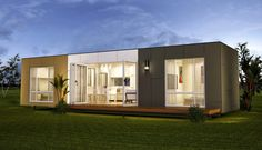 San Marino - Two Bedroom Granny Flats Prefab Container Home With High Quality Fittings By Nova Deko.