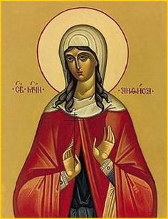 St. Anthusa, Roman Catholic Abbess tortured by the Byzantine Emperor Constantine V. Anthusa was originally a hermitess, becoming abbess of the convent near Constantinople. Because of her veneration of sacred images, she was arrested by the emperor, who, as an ardent iconoclast, opposed such sacramentals. Anthusa was tortured severely until the empress intervened and secured her release.  Feastday: July 27