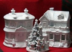 Make a Christmas Village
