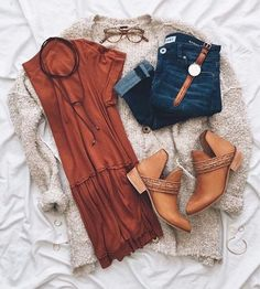 Love the burnt orange color and I really like the style of this top