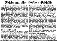 Artikel in der der Hessischen Landeszeitung vom 3.7.1938