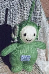 Knitted Teletubbbies Toys Baby Toddler Teletubbies Crochet and knitted Toys...