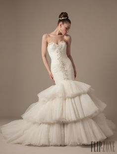 Dennis Basso for Kleinfeld 2013 collection - Bridal - http://www.flip-zone.com/dennis-basso-for-kleinfeld-3965