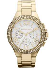 Michael KORS Chronograph Stainless Steel Bracelet Η τιμή μας: 361€ http://www.oroloi.gr/product_info.php?products_id=37169