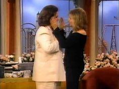 ▶ Barbra Streisand 1997 interview with Rosie (Part 1 of 3) - YouTube