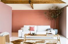 Dulux Colour of the Year 2015 – Copper Blush Copper Blush, Copper And Pink, Wall Colors, House Colors, Rose Gold Metallic Paint, Great Interior Design Challenge, Blush Bedroom, Popular Paint Colors, Terracota