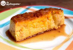 Uno de los postres más fáciles que conozco... y de los más ricos. Pudin o Budín de manzana http://www.recetasderechupete.com/pudin-o-budin-de-manzana/12824/ #receta