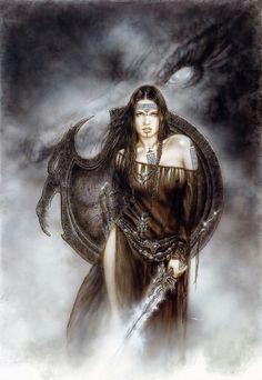 'The Guardian Of The Black Dragon' by #LuisRoyo