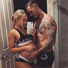 Imagem de love, couple, and tattoo