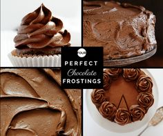 Four Perfect (and unique!) Chocolate Frostings