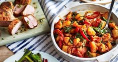 Our Spanish flamenco potatoes with roast pork recipe will spicen up your meal time. Discover potatoes - they are more than a bit on the side!