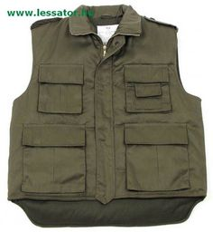 MFH US Ranger bélelt mellény oliva Us Ranger, Merida, Summer Wear, Military Jacket, United States, Vest, Plus Size, Jackets, How To Wear