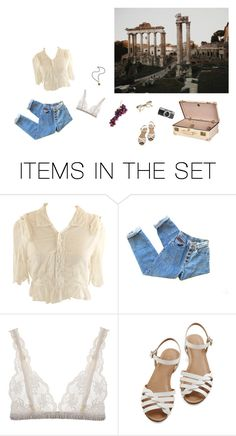 """""""Just Visiting"""" by alyssagray7 ❤ liked on Polyvore featuring art"""
