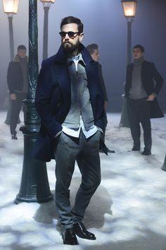 Ami by Alexandre Mattiussi sporty chic Fall/Winter menswear collection Paris Fashion Week 2014