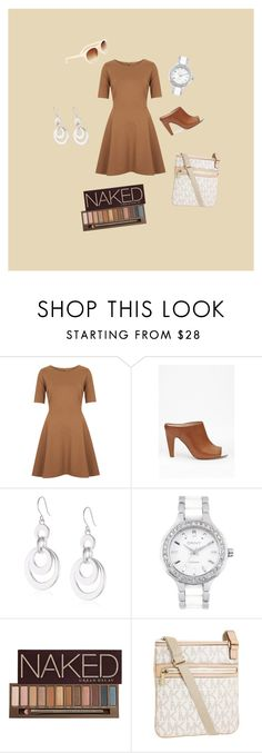 """wildbloom"" by canada-race ❤ liked on Polyvore featuring Topshop, French Connection, Kenneth Cole, DKNY, Urban Decay, Michael Kors and Sole Society"