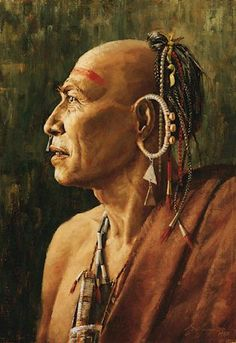 heinzhistorycenter.org- War Chief of the Mohawk by Robert Griffing