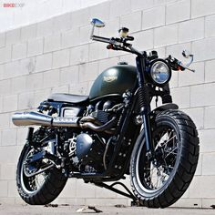 Custom Triumph Scrambler by Fgmotoworks | When a MotoGP mechanic builds a custom Triumph Scrambler, this is what you get. And yes, it's fast.