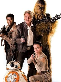 Promotional image for THE FORCE AWAKENS.