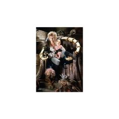 Jareth You Have No Power Over Me ❤ liked on Polyvore featuring labyrinth