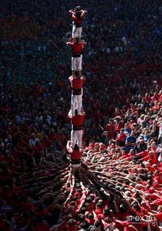 Castells. Human Towers Catalonia