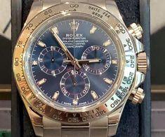 ROLEX Rolex Daytona - 116509 - Etat : Très bon (Traces d'usure nulles ou légère)  Année : 2018 Garantie : Vie Boitier : Or blanc Bracelet : Or blanc Luxury Watches, Rolex Watches, Watches For Men, Rolex Daytona, Bracelet Or, Accessories, White Gold, Life, Fancy Watches