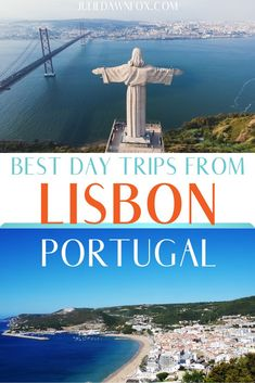Memorable day trips from Lisbon, Portugal that will enhance your vacation. Fun excursions to discover history, beaches, nature and wine. European Destination, European Travel, Europe Travel Tips, Travel Destinations, Portugal Travel, Lisbon Portugal, Best Countries To Visit, Day Trips From Lisbon, Scotland Castles