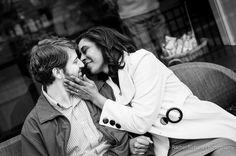 #TBT to Daniella and Jon's engagement session at Monument Circle! <3 . . . . . #downtownindy #indyengaged #monumentcircle #indy #kiss #shesaidyes #engaged #reallove #rachelrichard #rachelrichardphotography #blackandwhite