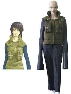 Naruto Shizune Jonin Cosplay Costume