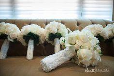 White Wedding Flowers | Bridal Bouquet | Bridesmaids Bouquets | Boston Wedding | Wedding Flowers | Stapleton Floral Design