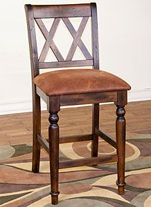 Bar Stool Mexican Furniture Rustic Dining Room Collection Santa