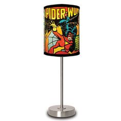 Spider-Woman Cover Lamp now featured on Fab.