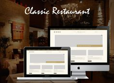 Classical Restaurent is an elegant muse template designed for restaurents, bars websites. Muse file makes everything clear and easy to customize. #muse #restaurant #classical #template #design #themeforest