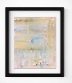 Abstract watercolor Print, Original Abstract Painting, Modern Art, Contemporary wall art, peaceful a #watercolor #art #wallart #buyart #modern #contemporary