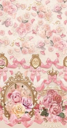 By Artist Unknown. Emo Wallpaper, Flowery Wallpaper, Cellphone Wallpaper, Pattern Wallpaper, Wallpaper Backgrounds, Iphone Wallpaper, Cute Lockscreens, Apple Watch Wallpaper, Angelic Pretty