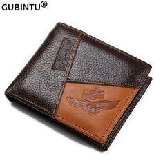 Famous Luxury Brand Genuine Leather Men Wallets Coin Pocket Zipper Men's Leather Wallet with Coin Purse portfolio cartera ZC8042 [Affiliate]