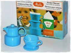 Melitta - Kinder Filter Set - Vintage von ZeitSprungVintage