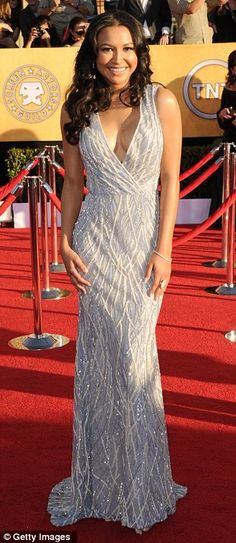 Naya Rivera. love the dress and her.