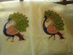 Passionista: Mural Saree Designs..My attempt..