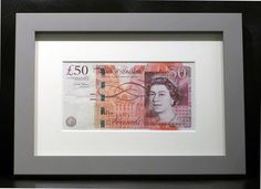 #Frames aren't just for pictures - here's a great #gift idea! #50poundnote @HeskinMarket