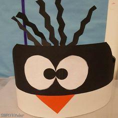 a super cute penguin hat