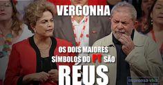 Lula, Dilma e o PT foram lançados ao esgoto da história política do Brasil e do mundo.  E agora petista?