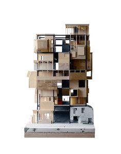 A Model (Danish pavilion, Venice architecture. Architecture Concept Drawings, Pavilion Architecture, Architecture Student, Architecture Details, Interior Architecture, Architecture Models, Japanese Architecture, Sustainable Architecture, Residential Architecture